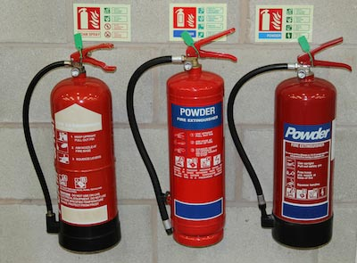 3 Fire Extinguisher Versions
