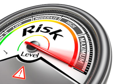 CSS risk assessment guage