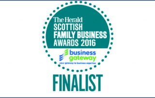 Finalist Scottish Family Business Awards 2016