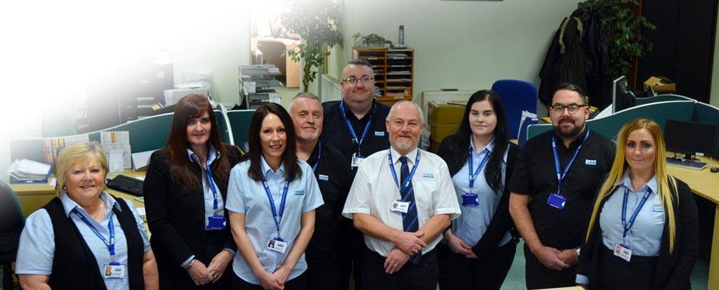 Connelly Security Systems Glasgow Customer Services Team