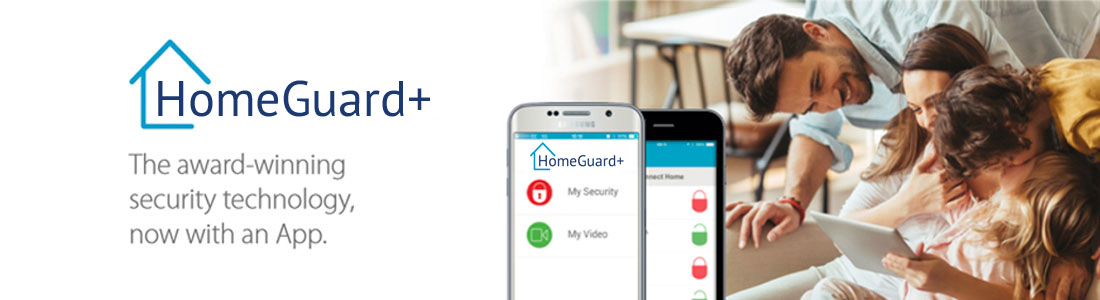HomeGuard home security system