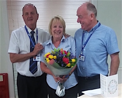 Anne Neilson 25 years at CSS