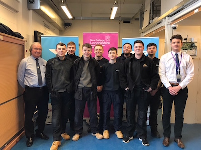 Apprentices at NLC apprentices competition