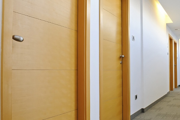 Offices with door entry systems