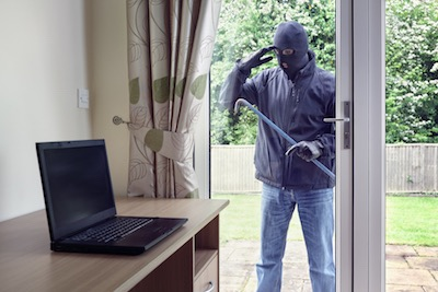 Don't leave valuables in plain sight